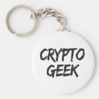 Porte-clés Crypto copie de geek