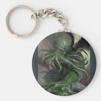 Porte-clés Cthulhu puissance en chevaux en hausse Lovecraft a