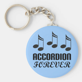 Porte-clés D'accordéon cadeau de musique pour toujours