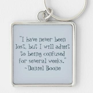 Porte-clés Daniel Boone a perdu le porte - clé de citation