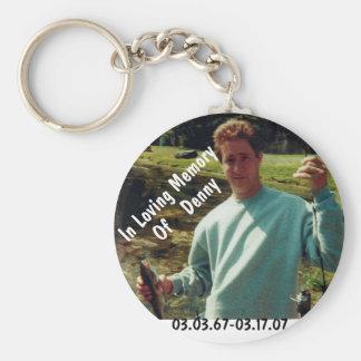Porte-clés Dans la mémoire de Denny