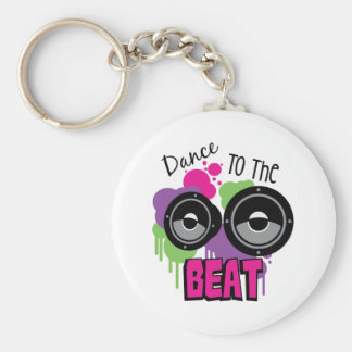 Porte-clés Danse au battement