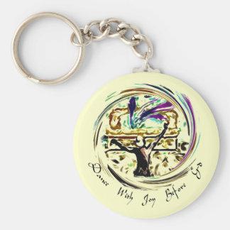 Porte-clés Danse avec le porte - clé de joie