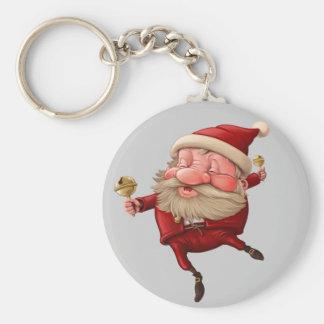 Porte-clés Danse de cloches de Noël du père noël