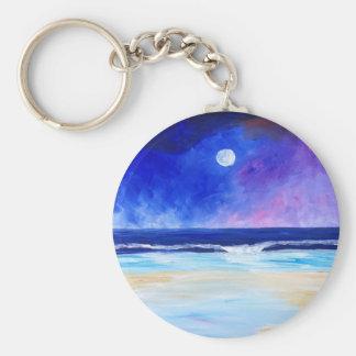 Porte-clés Danse pour la déclaration réfléchie d'art de lune