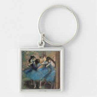 Porte-clés Danseurs d'Edgar Degas   dans le bleu, 1890