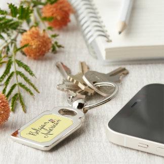 Porte-clés de coeurs enlacé par Américain belge