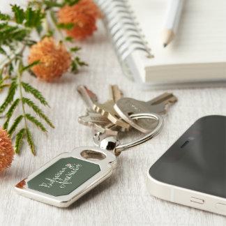 Porte-clés de coeurs enlacé par Américain bulgare