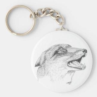 Porte-clés de faune de Fox
