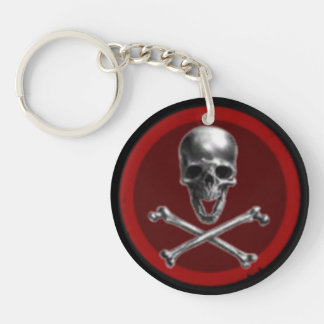Porte-clés de logo d'Anoikis Outlaws Corporation