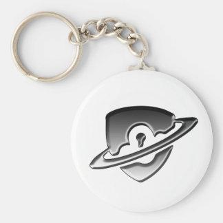 Porte-clés de logo de sécurité de Blackwood