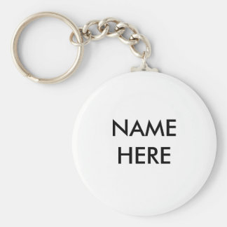 Porte-clés De nom porte - clé ici