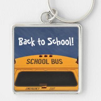 Porte-clés De nouveau à l'autobus scolaire
