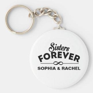 Porte-clés De soeurs modèle pour toujours