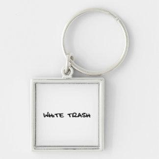 Porte-clés Déchets blancs