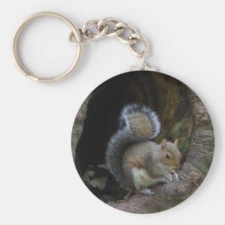 Porte-clés d'écureuil
