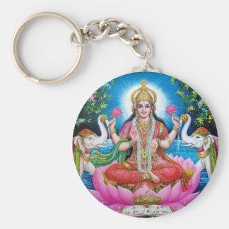 Porte-clés Déesse de Lakshmi de l'amour, de la prospérité, et
