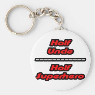Porte-clés Demi d'oncle Half Superhero