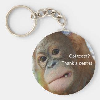 Porte-clés Dents obtenues ? Remerciez un dentiste