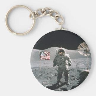 Porte-clés Dernier porte - clé de promenade de lune d'Apollo