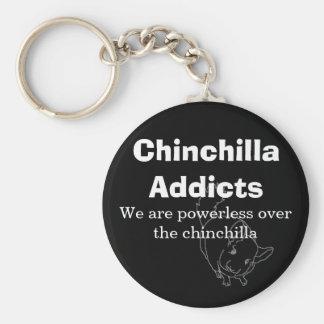 Porte-clés Des intoxiqués de chinchilla, nous sommes