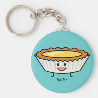 Porte-clés Dessert au goût âpre de Chinois de croûte de crème