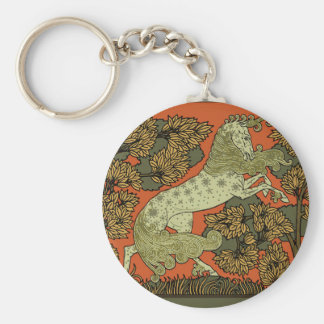 Porte-clés Dessin antique de cheval
