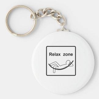 Porte-clés détendez zone.ai