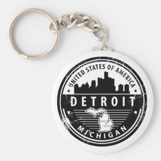 Porte-clés Detroit, Michigan
