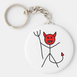 Porte-clés Diable de bâton