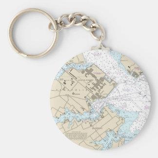 Porte-clés Diagramme de port d'Annapolis