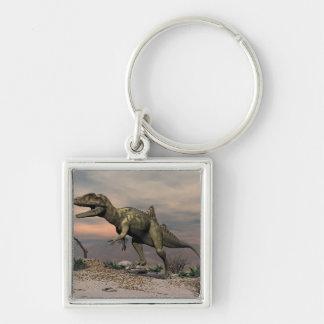 Porte-clés Dinosaure de Concavenator dans le désert
