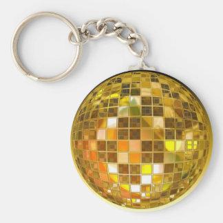 Porte-clés Disco de partie de lumière de danse de saut de