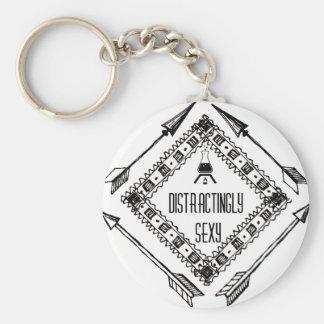 Porte-clés Distractingly sexy