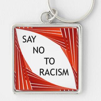 Porte-clés Dites non au racisme