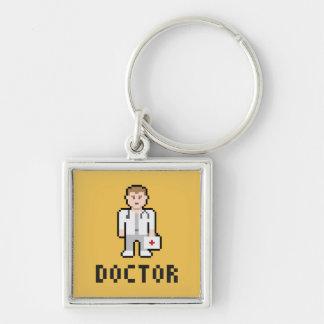 Porte-clés Docteur Keychain de pixel