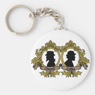 Porte-clés Double porte - clé de camée