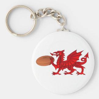 Porte-clés Dragon de Gallois avec un porte - clé de boule de