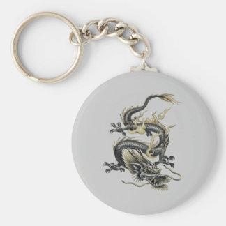 Porte-clés Dragon métallique