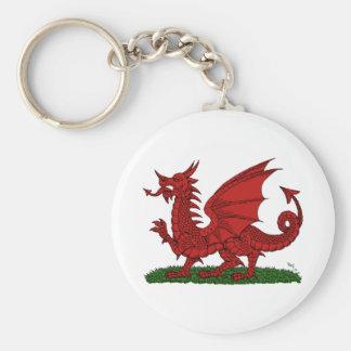 Porte-clés Dragon rouge du Pays de Galles