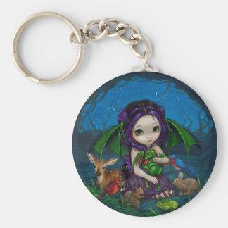 "Porte-clés ""Dragonling porte - clé de jardin III"""