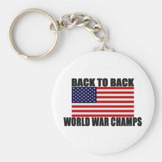 Porte-clés Drapeau américain de nouveau aux champions