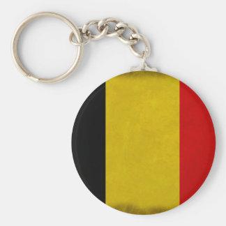 Porte-clés Drapeau Belgique Belge