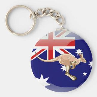 Porte-clés Drapeau brillant australien