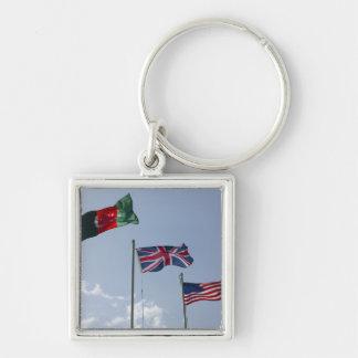 Porte-clés Drapeau BRITANNIQUE entre l'Afghan et les drapeaux