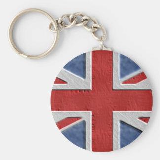 Porte-clés Drapeau britannique industriel