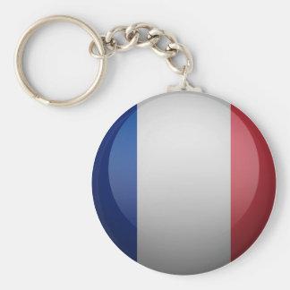 Porte-clés Drapeau de de la France