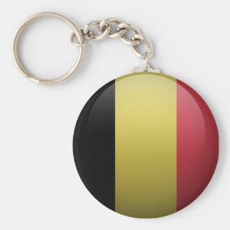 Porte-clés Drapeau de la Belgique