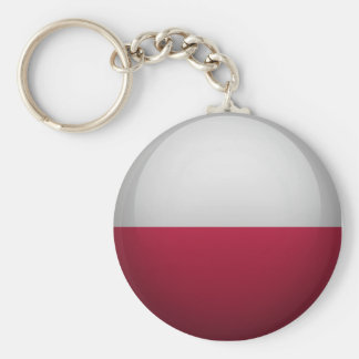 Porte-clés Drapeau de la Pologne