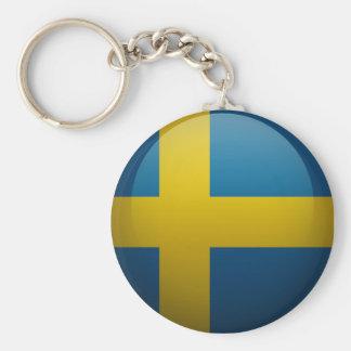 Porte-clés Drapeau de la Suède